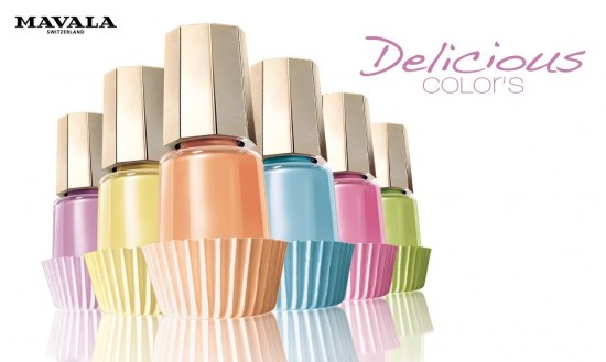 Mavala Delicious Nail Polish collection