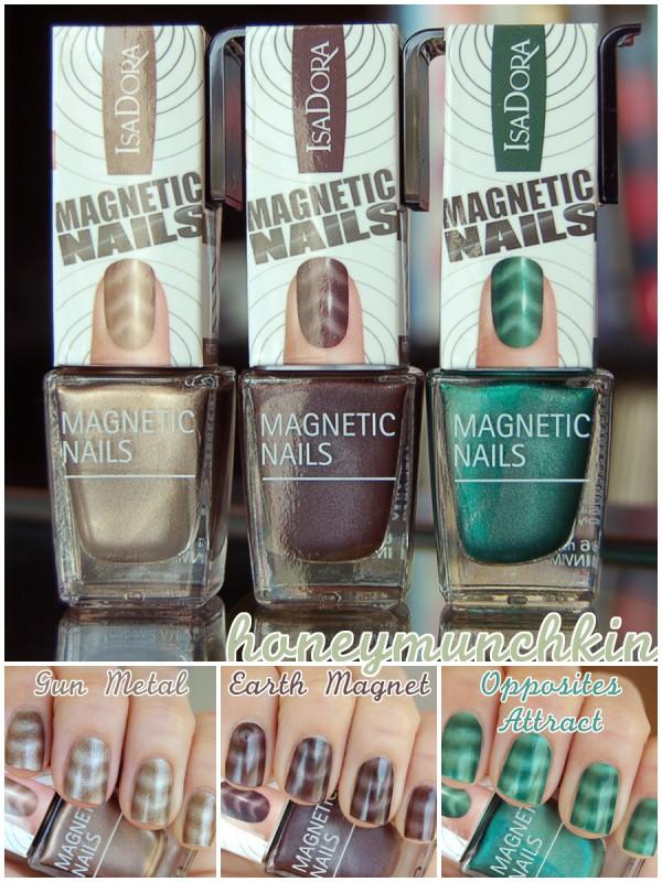 isadora magnetic nail polish