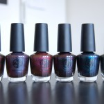 Swatches of W7 – Metallic Planets Collection