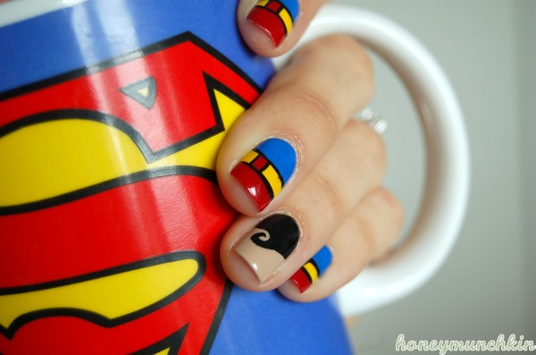 Dc superhero nail art series superman honeymunchkin roydens favourite mug prinsesfo Gallery