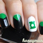 DC Superhero Nail Art Series &#8211; Green Lantern