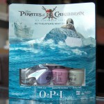 Swatches of OPI &#8211; Pirates of the Caribbean Mini Collection