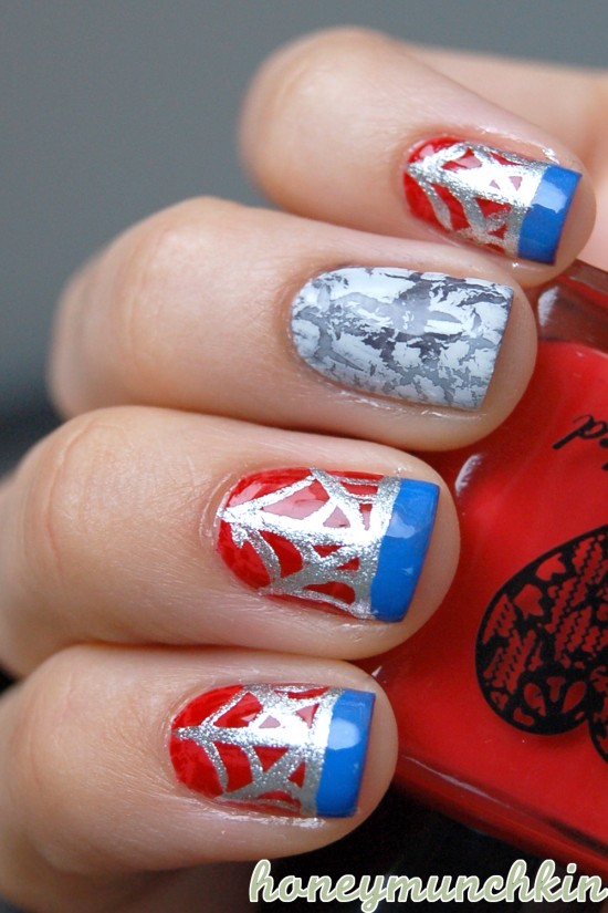 Marvel Avengers Nail Art Series Spider Man Honeymunchkin