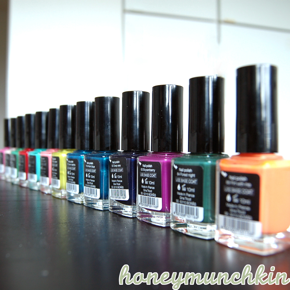 Gina Tricot Beauty Nails summer 2012