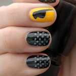 DC Superhero Nail Art Series  Black Canary