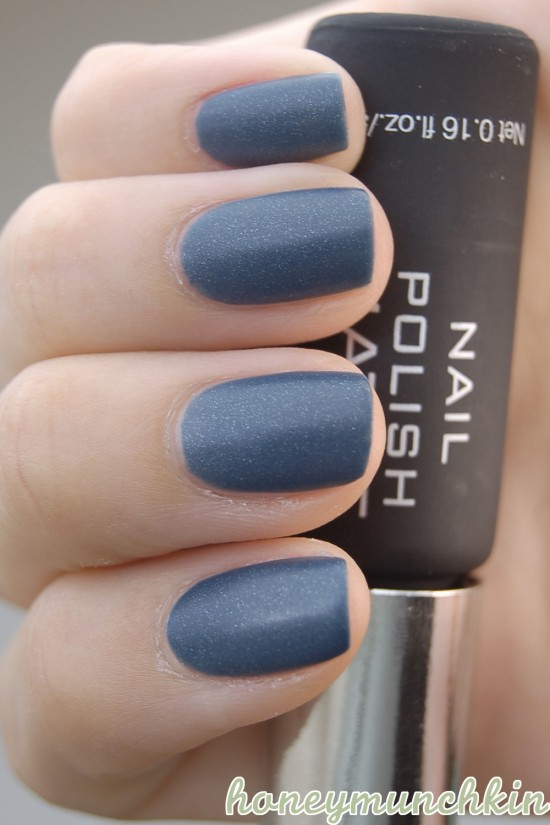 The Matte Topcoat Doesn't Dry