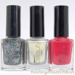 Swatches of Gina Tricot Beauty – 73 Disco, 66 Viva Glam & 87 Great Love