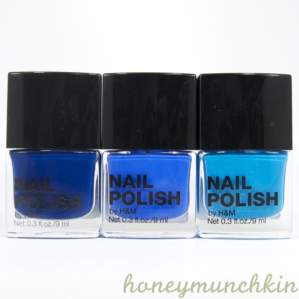 H&M - Something Blue, Blue My Mind & Nail Him