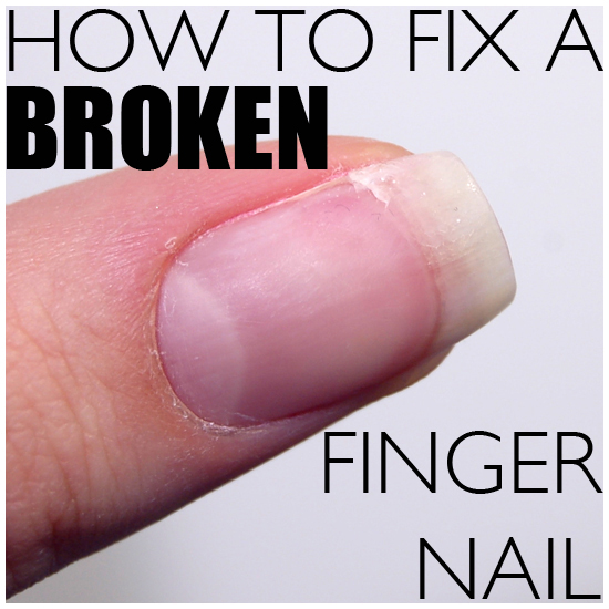 How To Fix A Split Nail At Home