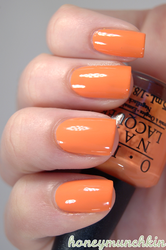 Orange Opi Nail Polish | Best Nail Designs 2018