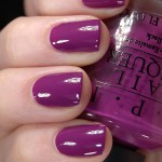 Swatch of OPI – Pamplona Purple