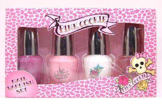 Pink cookie set