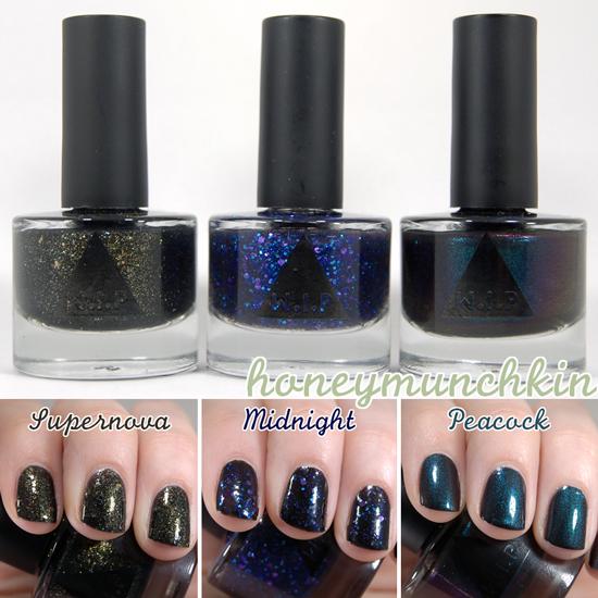 W.I.P - Supernova, Midnight & Peacock cover