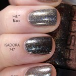 Comparison of GOSH &#8211; 612 Galaxy, IsaDora &#8211; 747 Oasis &amp; H&amp;M &#8211; Black