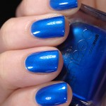 Swatch of Gina Tricot Beauty &#8211; 113 Sapphire Blue