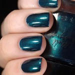 Swatch of KICKS Nail Lacquer &#8211; Jewel of Denial