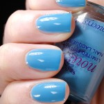 Swatch of Snowcrystal &#8211; 417 Dark Turquoise