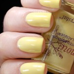Swatch of Snowcrystal &#8211; 418 Sunny Yellow
