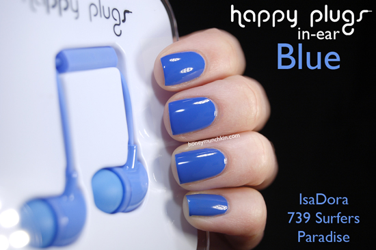 Happy Plugs In-ear Blue from honeymunchkin.com