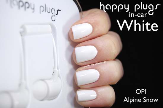 Happy Plugs In-ear White from honeymunchkin.com