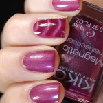 Swatch of KIKO &#8211; 703 Wine Red