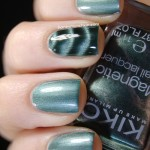 Swatch of KIKO &#8211; 706 Deep Green