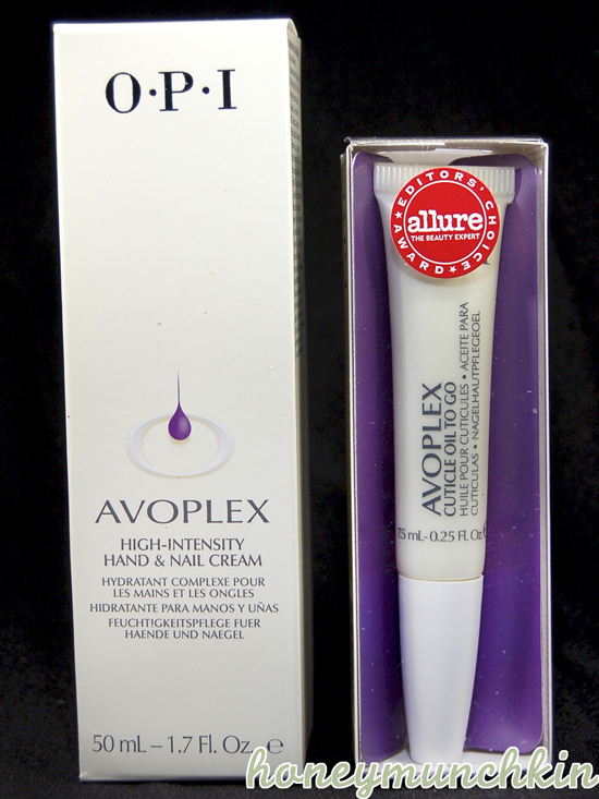 OPI - Avoplex hand cream and cuticle oil