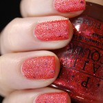 Swatch of OPI &#8211; The Impossible