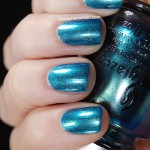 Swatch of China Glaze &#8211; Deviantly Daring