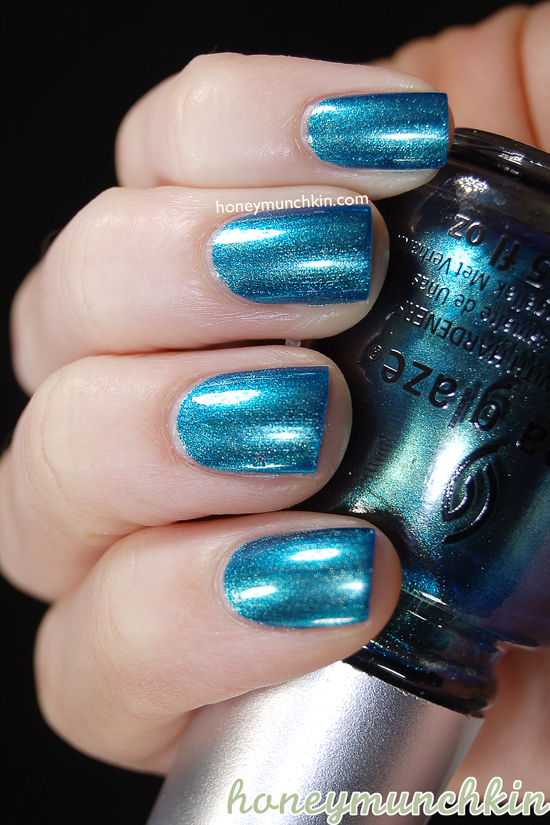 China Glaze - Deviantly Daring from honeymunchkin.com