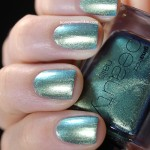 Swatch of Gina Tricot Beauty – 123 Blue Bug