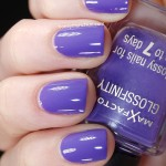 Swatch of Max Factor – 130 Lilac Lace