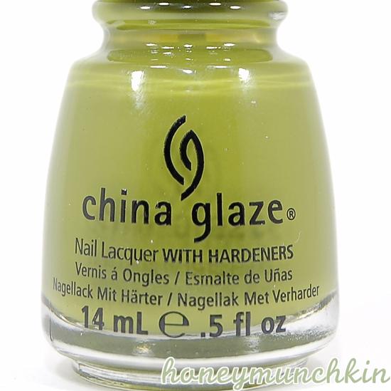 China Glaze - Budding Romance bottle detail