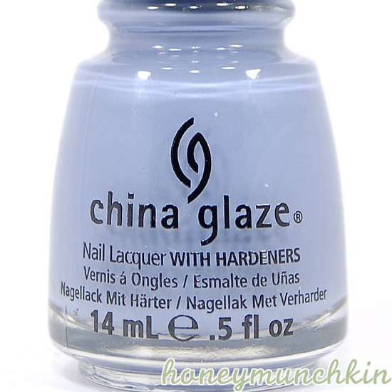 China Glaze - Fade Into Hue bottle detail