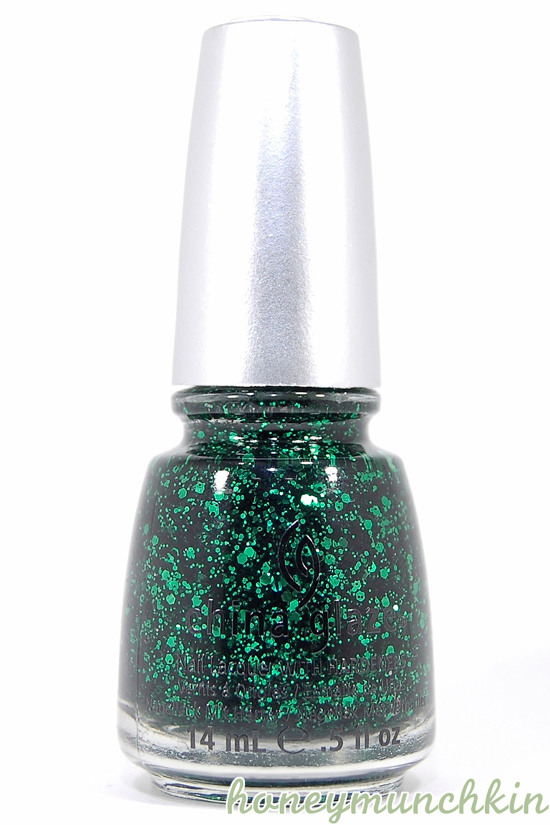 China Glaze - Graffiti Glitter bottle