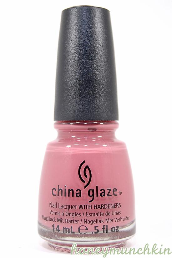 China Glaze - Life Is Rosy bottle