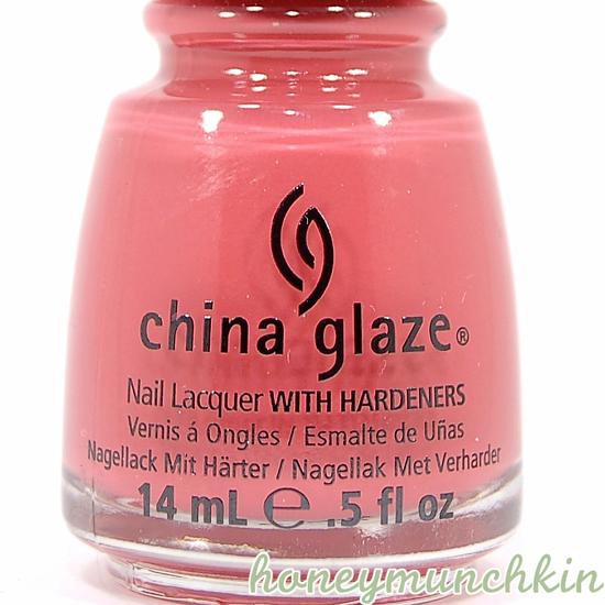 China Glaze - Passion For Petals bottle detail