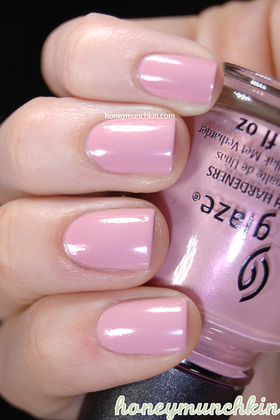 China Glaze - Pink-ie Promise