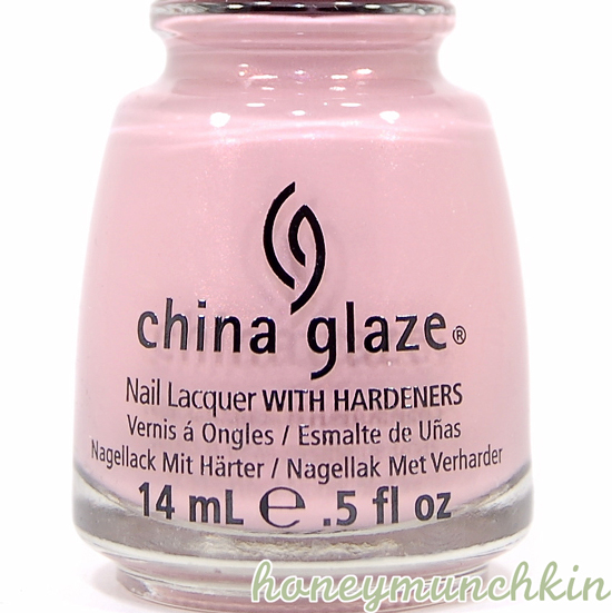 China Glaze - Pink-ie Promise bottle detail