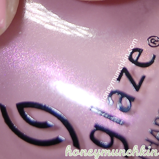 China Glaze - Pink-ie Promise detail