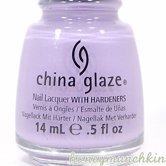 China Glaze - Tart-y For the Party bottle detail