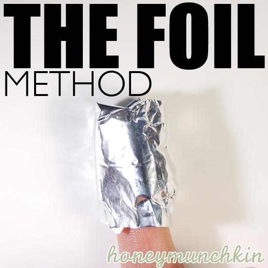 The Foil Method Tutorial by honeymunchkin.com