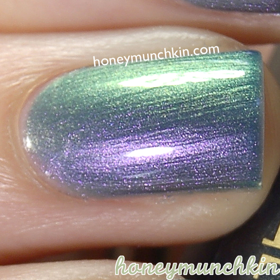 Rimmel Metal Rush - 60 Royal Blue from honeymunchkin.com