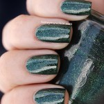 Swatch of China Glaze &#8211; Glittering Garland