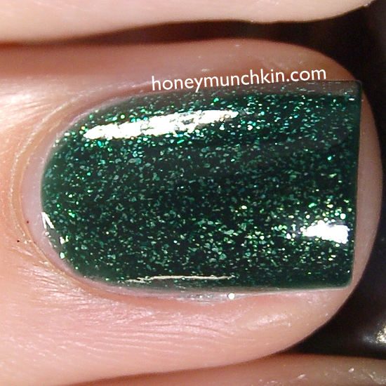 China Glaze - Glittering Garland from honeymunchkin.com