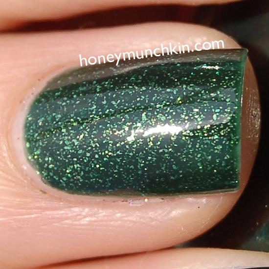 China Glaze - Glittering Garland from honeymunchkin.com