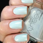 Swatch of Gina Tricot Beauty – 130 Shimmer Mint