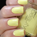 Swatch of Gina Tricot Beauty &#8211; 131 Lemon