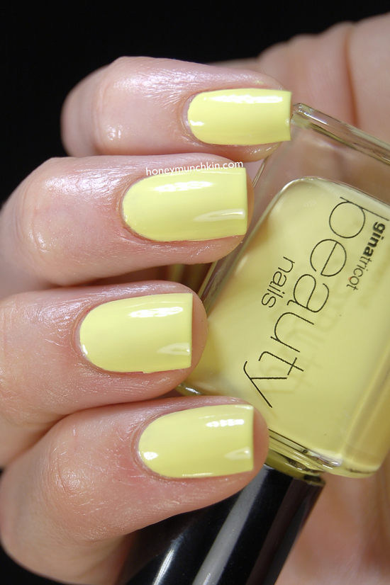 Gina Tricot Beauty - 131 Lemon from honeymunchkin.com