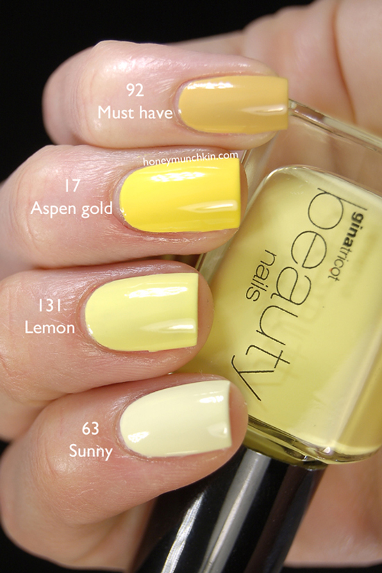 Gina-Tricot-Beauty-Sunny,-Lemon,-Aspen-Gold-&-Must-Have